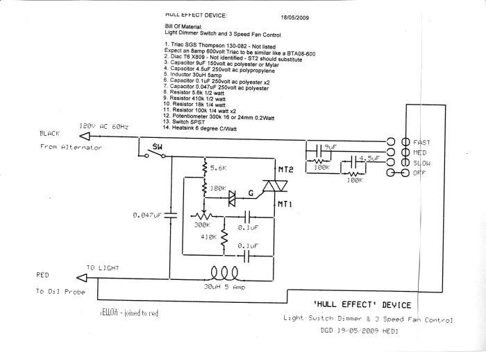 Sw Sch & Parts list 2