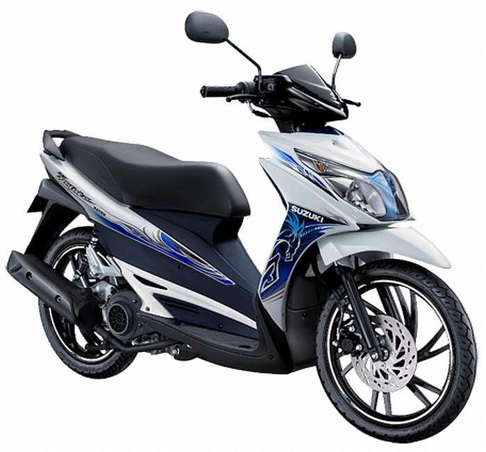 Hayate 125, Rp. 15.250.000, 125cc, 113kg.
