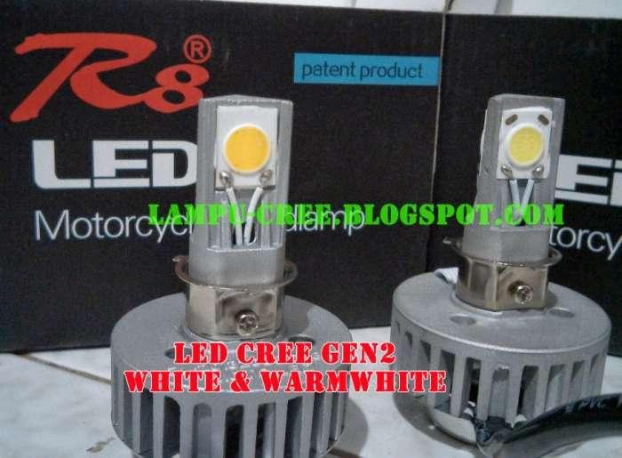 Lampu depan Led Cree COB / Gen2