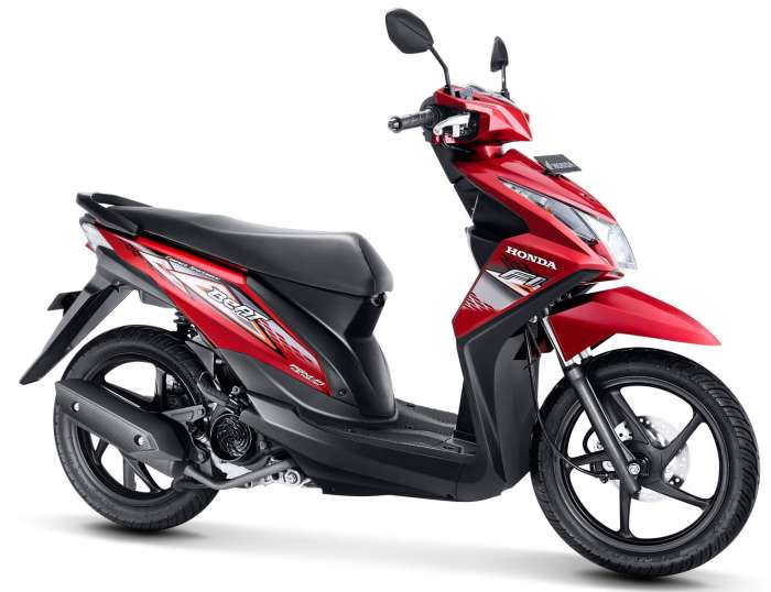 The All New Beat FI The Unbeatable You CBS, Rp14.400.000, 110CC, 93kg.