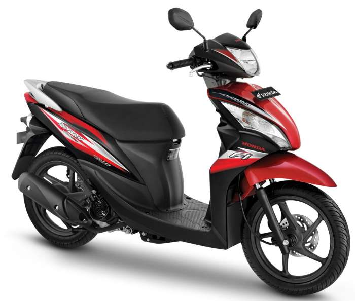 Sapcy Helm in-AT PGM-FI Fuel Injection, Rp13.650.000, 110cc, 99kg.