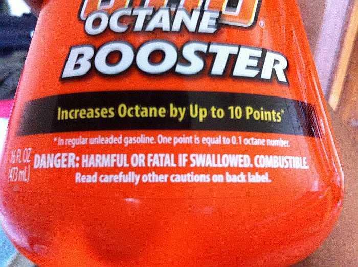 Prestone octan booster