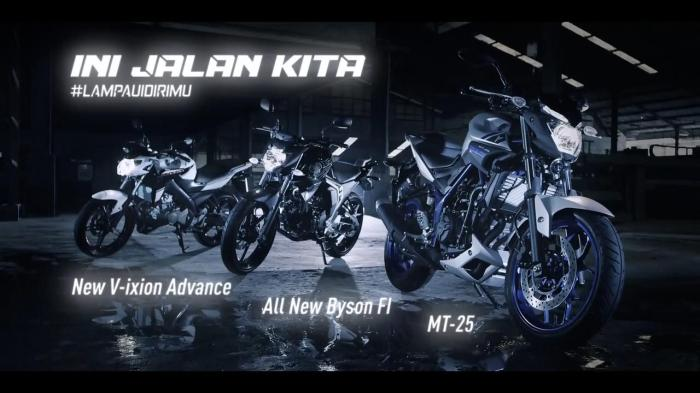 Semboyan arogan Yamaha di Video Naked evolution