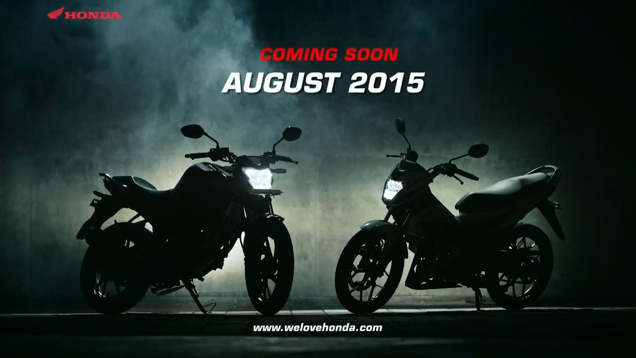 Dari Teaser Terlihat Bahwa Lampu Depan Honda Sonic 150r Dan Cb150r