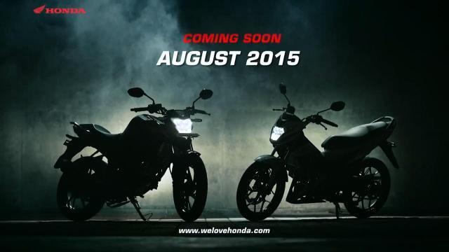 Teaser Honda Sonic 150R & Honda CB150R
