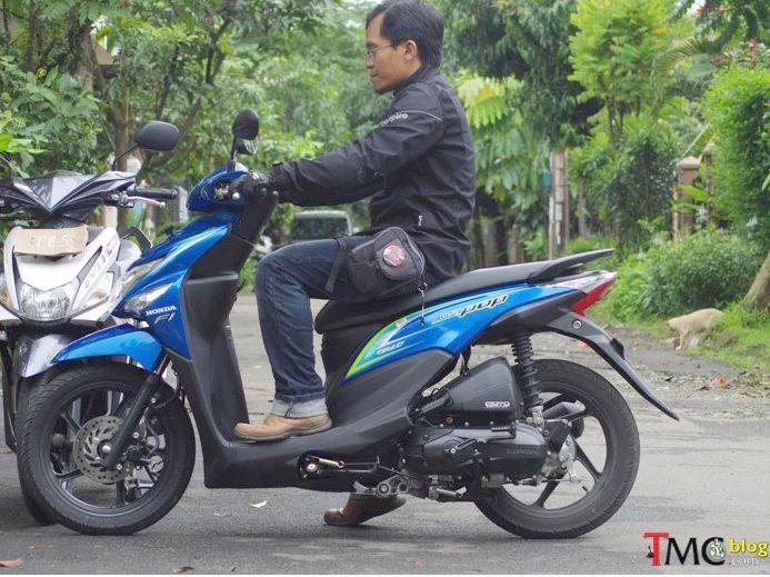 ergonomi ruang kaki Honda Beat3