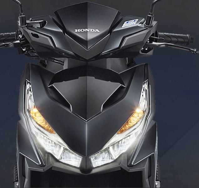 Honda Vario tampilan depan