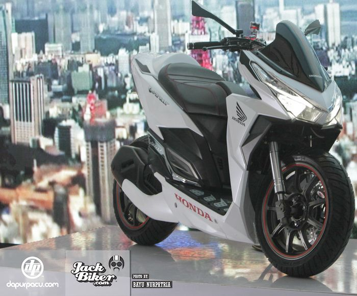 New-Honda-Vario modif low rider