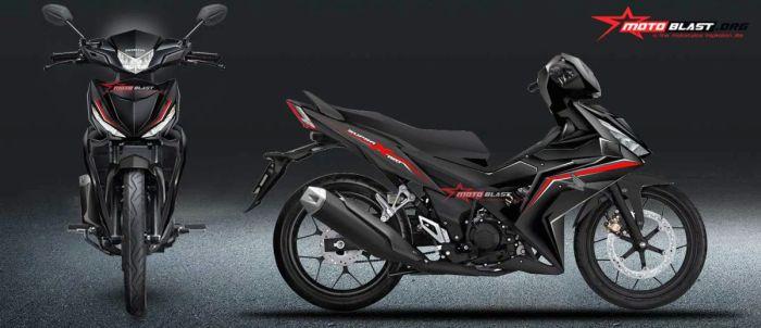 renderan motoblast.org untuk calon bebek super Honda SupraX 150