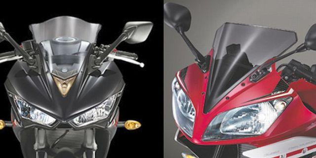 Yamaha R3 R15