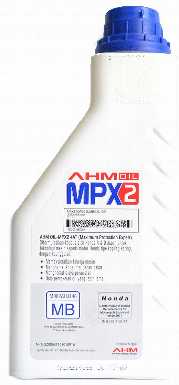 mpx2 buatan idemitsu