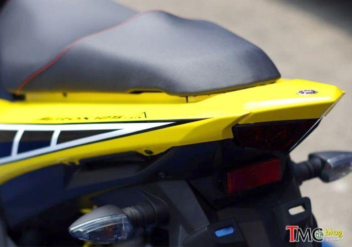 Tanpa pegangan belakang Yamaha Aerox terlihat jelek