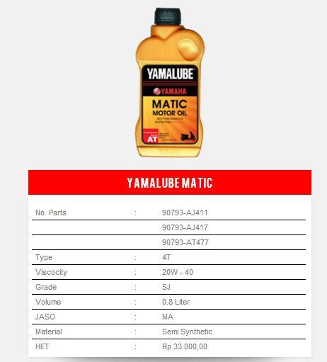 yamalube-matic