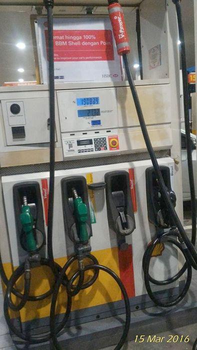 VPower di jual di gerai pom bensin Shell, sharingan Ari Estrella