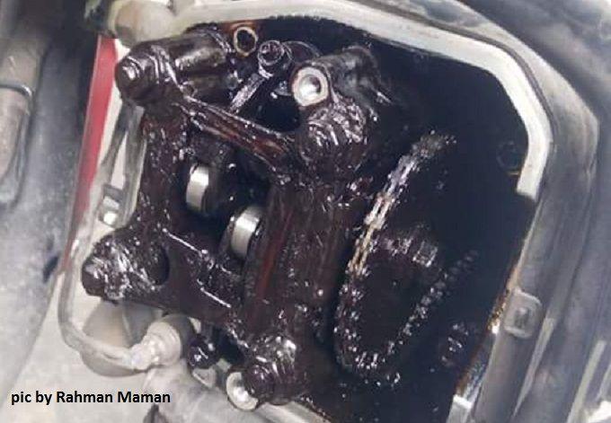 Oli gardan dipakai mesin