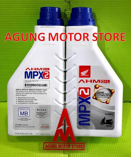 Oli Mesin AHM Oil MPX2 Matic 10W-30 (0,8L)