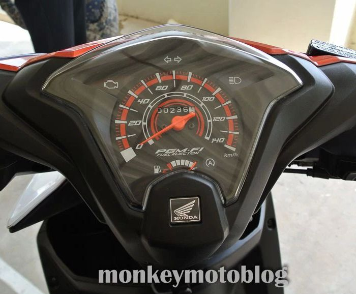 Spedo digital Honda Beat 2014