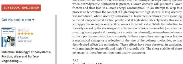 penjelasan di buku tribology tentang HTHS