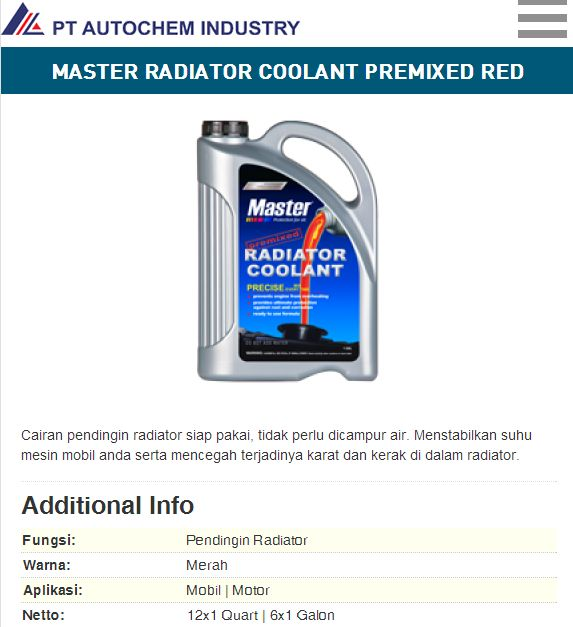 coolant-master
