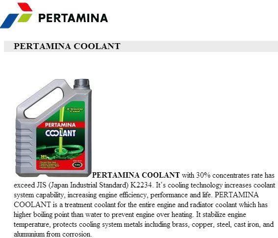 coolant-pertamina