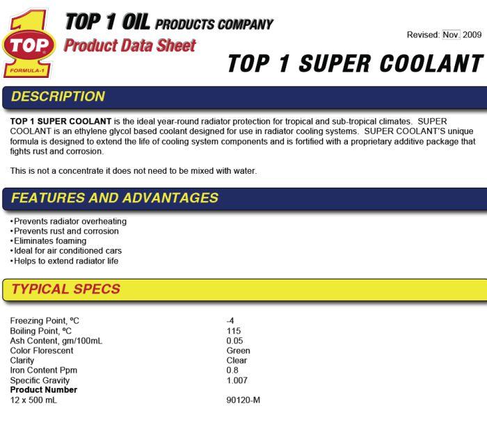 top-one-super-coolant