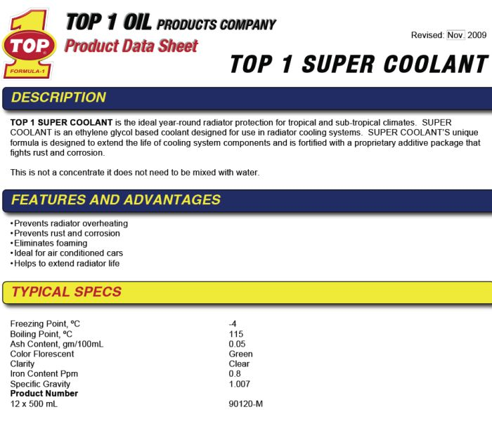 top-one-super-coolant