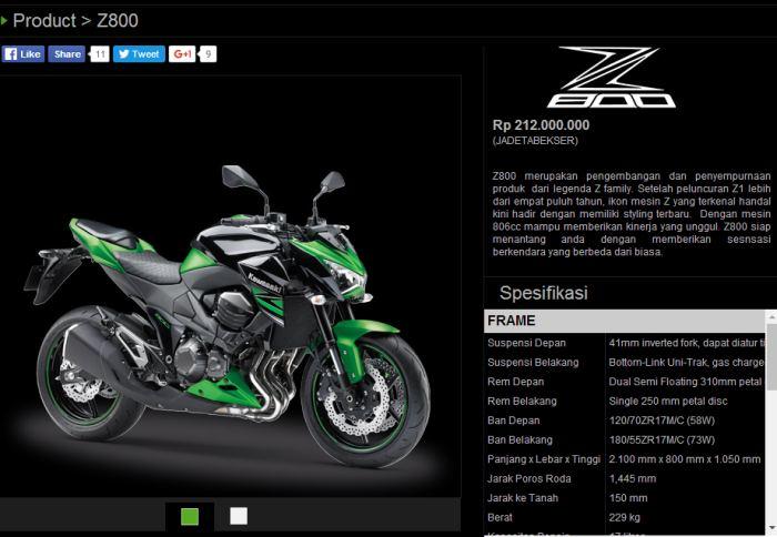 harga-kawasaki-z800-di-indonesia