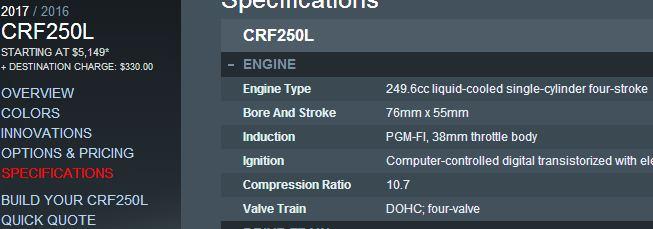 spesifikasi-mesin-honda-crf250l