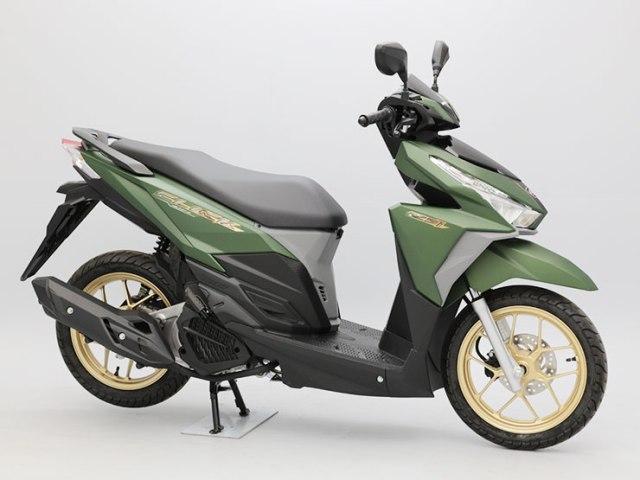 Ternyata di jepang ada yang jualan Honda Vario warna  hijau