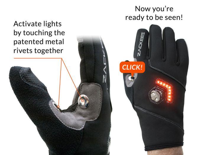 Sarung Tangan Dengan Lampu Belok Keren Namun Tidak Lebih
