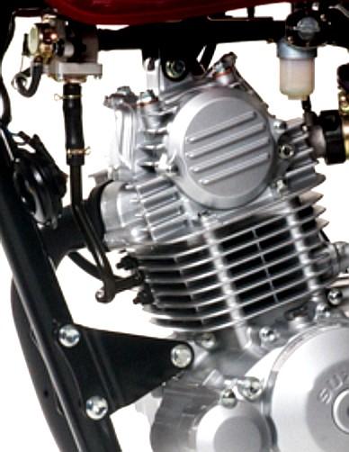 Suzuki GD110HU motor ideal untuk kerja, model retro, diuji ekstrem