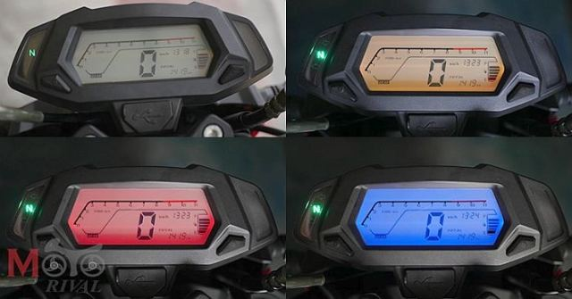 Spedo mocin GPX Demon 150 saja bisa ganti ganti warna