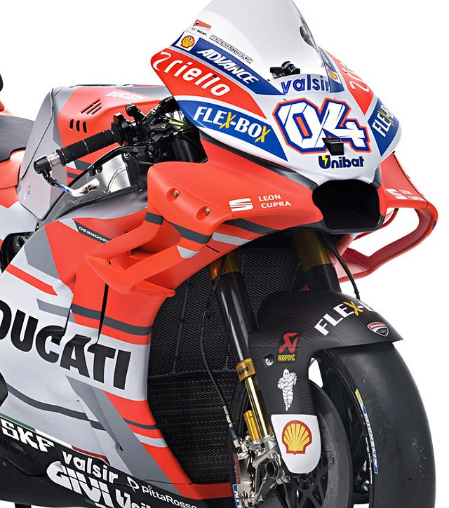 Fairing Ducati Desmosedici GP18