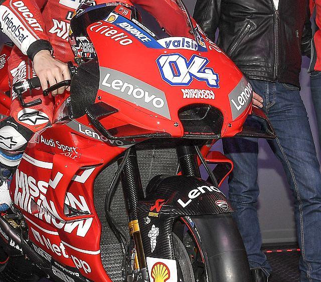Fairing Ducati Desmosedici GP19 launching