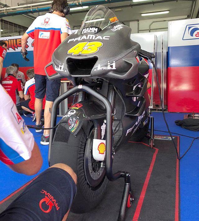 Fairing Ducati Desmosedici GP19 sepang trial 3