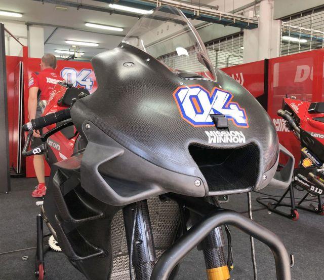 Fairing Ducati Desmosedici GP19 sepang trial