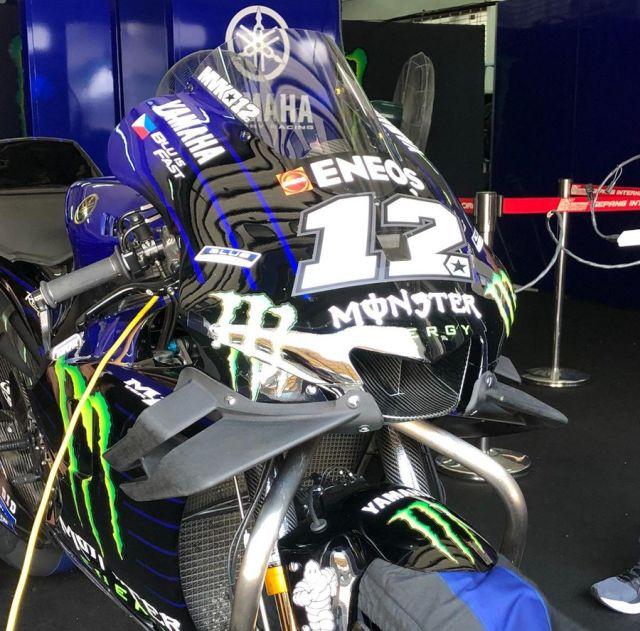 fairing Yamaha M1 2019 proto