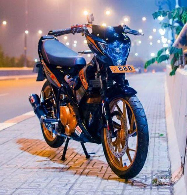 Lampu Belok Dibuat Beda  Tampilan Suzuki Satria Versi